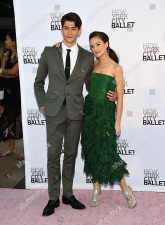 NYCB principal dancer and choreographer Lauren Lovette and guest attend the New York City Ballet's Fall Fashion Gala at the David H. Koch Theater, in New York