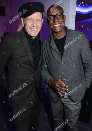 Paul Simonon and Charles Aboah