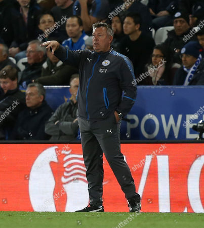 Stock Photo of Leicester City Manager, Craig Shakespeare