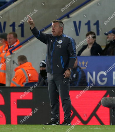 Leicester City Manager, Craig Shakespeare