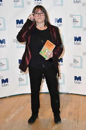 Ali Smith with her book 'Autumn'