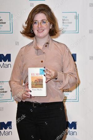 Fiona Mozley with her book 'Elmet'