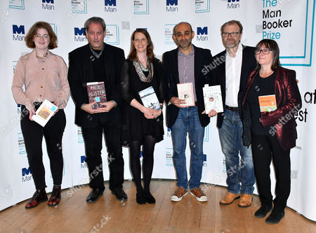 Fiona Mozley, Paul Auster, Emily Fridlund, Mohsin Hamid, George Saunders, Ali Smith