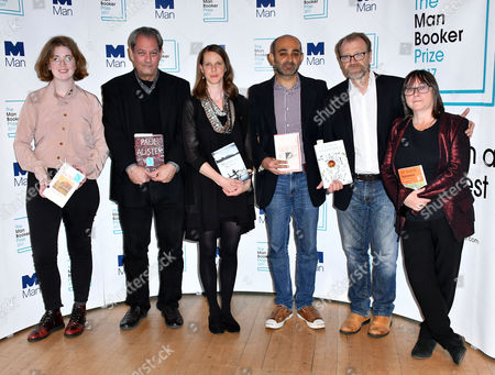 Stock Picture of Fiona Mozley, Paul Auster, Emily Fridlund, Mohsin Hamid, George Saunders, Ali Smith