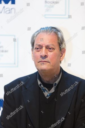 Paul Auster, author of '4321', shortlisted for the 2017 Man Booker Prize for Fiction.