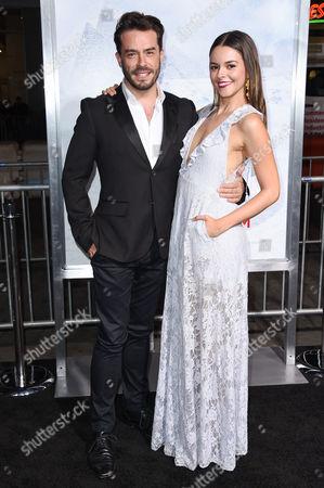 Juan Pablo Espinosa and Julieth Restrepo