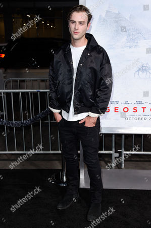 Editorial picture of 'Geostorm' film premiere, Arrivals, Los Angeles, USA - 16 Oct 2017