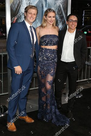 Stock Image of Blake Burt, Mackenzie Lawren and guest