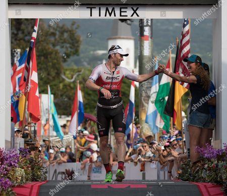 Editorial picture of Ironman World Championship, Kailua-Kona, Usa - 14 Oct 2017