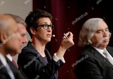 Editorial image of People Maddow Harvard, Cambridge, USA - 11 Oct 2017