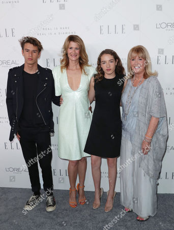 Laura Dern, Diane Ladd with Laura's children