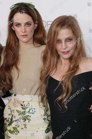Riley Keough and Lisa Marie Presley