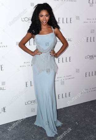 Herizen Guardiola arrives at the 24th annual ELLE Women in Hollywood Awards at the Four Seasons Hotel Beverly Hills, in Los Angeles