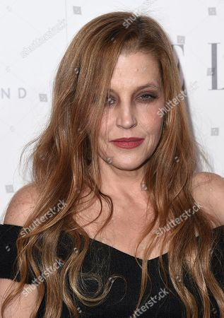 Lisa Marie Presley arrives at the 24th annual ELLE Women in Hollywood Awards at the Four Seasons Hotel Beverly Hills, in Los Angeles