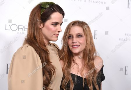 Riley Keough, Lisa Marie Presley. Riley Keough, left, and her mother Lisa Marie Presley arrive at the 24th annual ELLE Women in Hollywood Awards at the Four Seasons Hotel Beverly Hills, in Los Angeles
