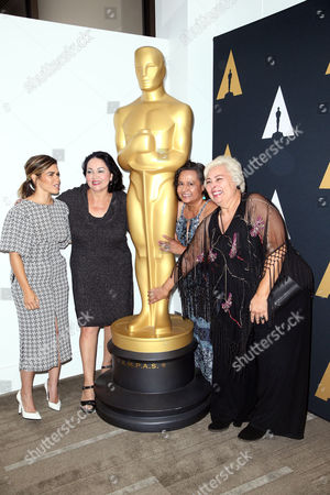 America Ferrera, Josefina Lopez, Ingrid Oliu, Soledad St. Hilaire