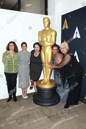Patricia Cardoso, America Ferrera, Josefina Lopez, Ingrid Oliu, Soledad St. Hilaire