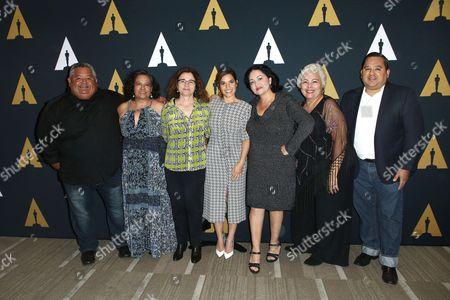 Nicholas Ontiveros, Ingrid Oliu, Patricia Cardoso, America Ferrera, Josefina Lopez, Soledad St. Hilaire, Elias P. Ontiveros