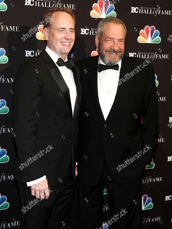 Robert Greenblatt, Dick Wolf. Robert Greenblatt, left, and Dick Wolf, right, pose in the press room at the Broadcasting & Cable Hall of Fame Awards 27th Anniversary Gala at the Grand Hyatt New York, in New York