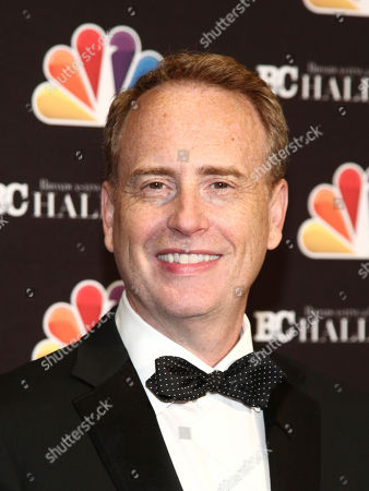 Robert Greenblatt poses in the press room at the Broadcasting & Cable Hall of Fame Awards 27th Anniversary Gala at the Grand Hyatt New York, in New York
