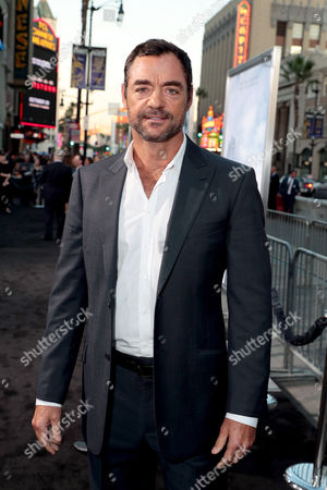 Editorial photo of Warner Bros. Pictures World film Premiere of 'Geostorm', Los Angeles, CA, USA - 16 Oct 2017
