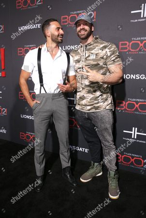Stock Image of Mike Tornabene and Bradley Martyn