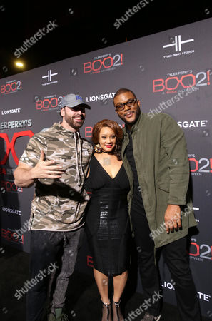 Bradley Martyn, Patrice Lovely and Tyler Perry, Writer/Director/Producer