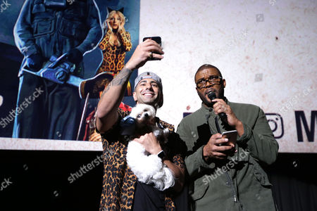 Yousef Erakat and Tyler Perry, Writer/Director/Producer