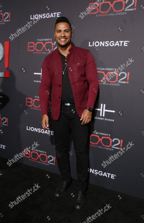 Editorial photo of Lionsgate World Premiere of Tyler Perry's 'Boo 2! A Madea Halloween' at LA LIVE Regal Cinemas, Los Angeles, CA, USA - 16 Oct 2017