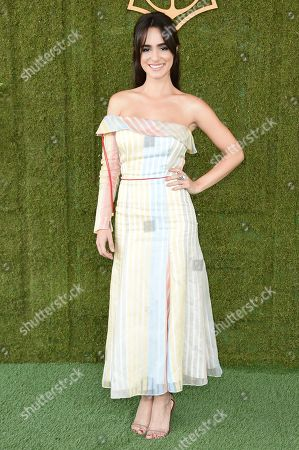 Alicia Sanz attends the 8th Annual Veuve Clicquot Polo Classic at Will Rogers State Park, in Los Angeles