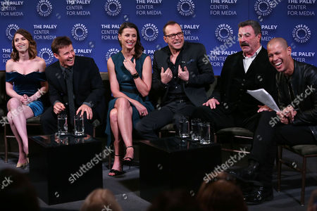 Sami Gayle, Will Estes, Bridget Moynahan, Donnie Wahlberg, Tom Selleck and Vladimir Duthiers