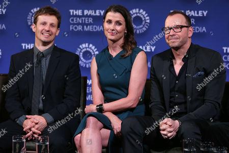 Will Estes, Bridget Moynahan and Donnie Wahlberg