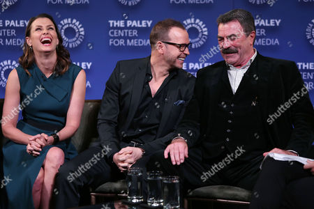 Bridget Moynahan, Donnie Wahlberg and Tom Selleck