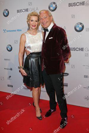 Jo Groebel, wife Grit Weiss