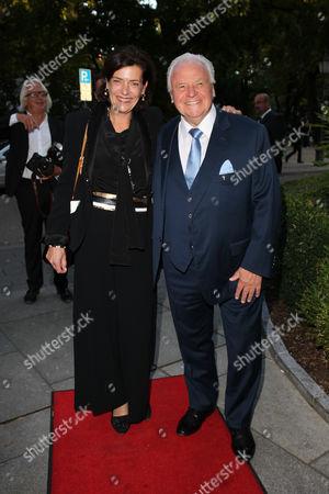 Stock Image of Eckart Witzigmann, wife Nicole