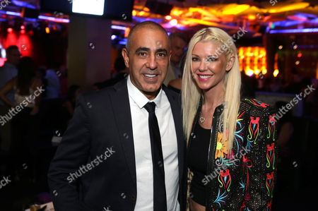 Ozzie Areu, Producer, and Tara Reid