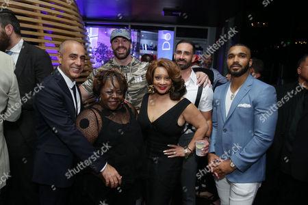 Ozzie Areu, Producer, Cassi Davis, Bradley Martyn, Patrice Lovely, Mike Tornabene and Tyler Lepley