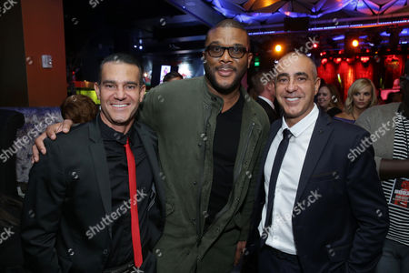 Will Areu, Producer, Tyler Perry, Writer/Director/Producer, and Ozzie Areu, Producer