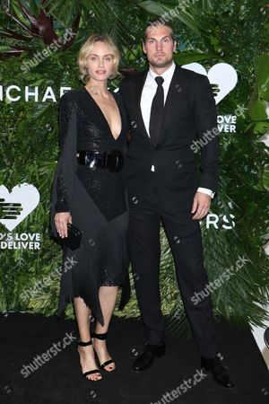 Stock Picture of Amber Valletta and Christian McCaw