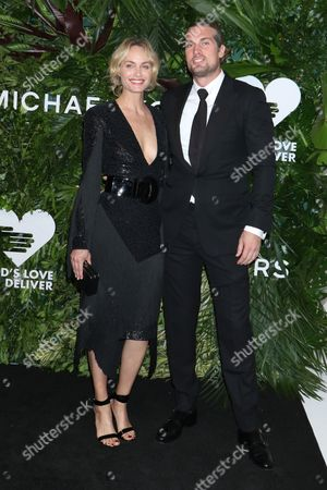 Stock Image of Amber Valletta and Christian McCaw