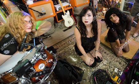 Ellie English, Irita Pai, Sade Sanchez of LA Witch