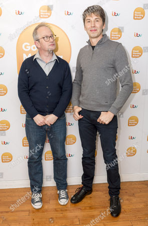 Stock Photo of Professor Brian Cox and Robin Ince