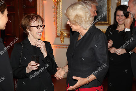 Una Stubbs and Camilla Duchess of Cornwall