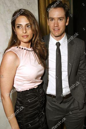 Lisa Ann Russell and husband Mark-Paul Gosselaar