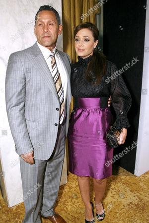 Angelo Pagan and wife Leah Remini