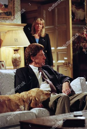 Ep 2208 Thursday 22nd May 1997  At the end of a particularly bad day over mysterious phone calls, Frank tries to settle down for the evening until a face from the past appears in the form of Kim, back from the dead - With Frank Tate, as played by Norman Bowler ; Kim Tate, as played by Claire King.