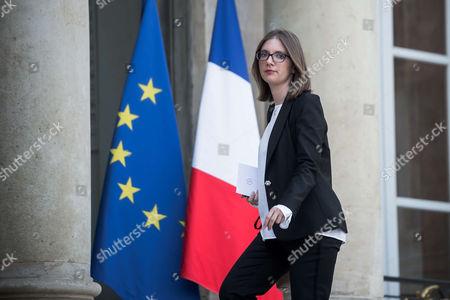 French La Republique En Marche (REM) party's elected Member of Parliament Aurore Berge