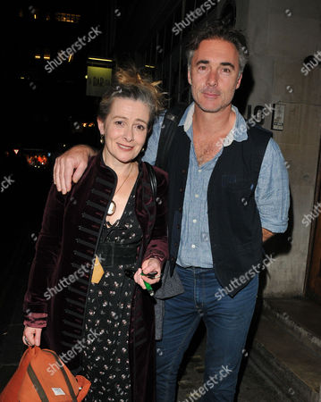Stock Image of Emma Fielding and Greg Wise