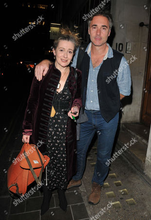 Stock Photo of Emma Fielding and Greg Wise