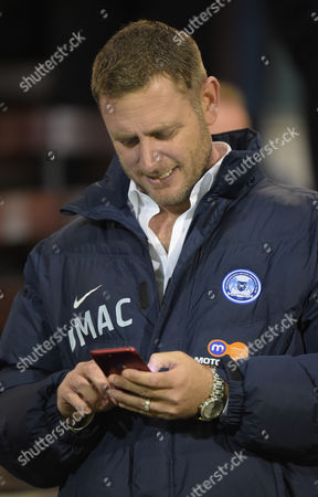 Peterborough United Chairman Darragh MacAnthony